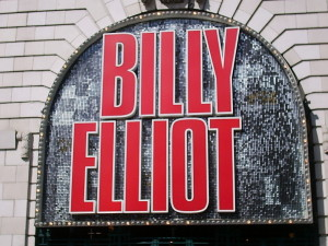 Das Logo von Billy Elliot