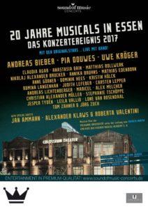 20 Jahre Musicals in Essen Plakat