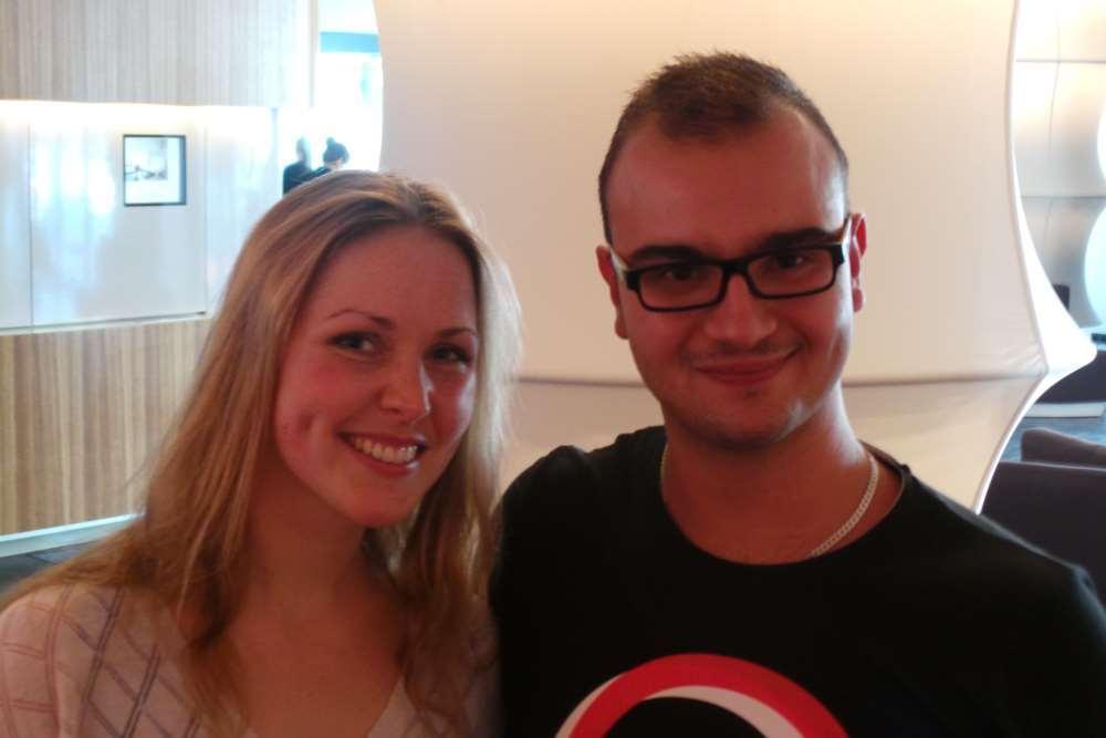 Eve Rades und Christian Demme