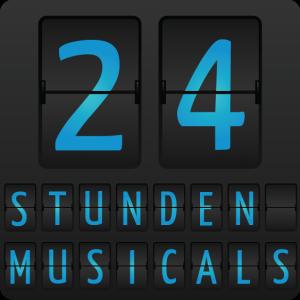 24 Stunden Musicals Logo