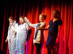 Mathias, Enrico, Jennifer und Wietske