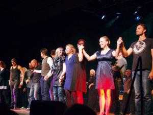 Schlussapplaus bei den 24-Stunden Musicals