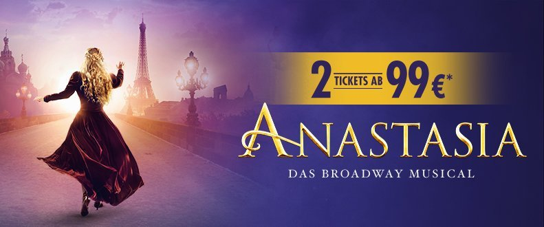 Anastasia 25 Jahre Musical Stuttgart