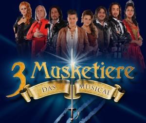 3 Musketiere Plakat