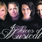 Vier bekannte Musical-Stimmen im Deutschen Theater München