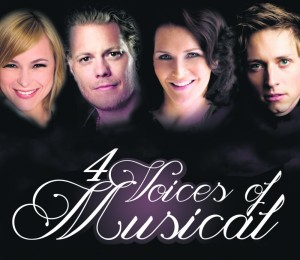 4 Voices of Musical Keyivsual