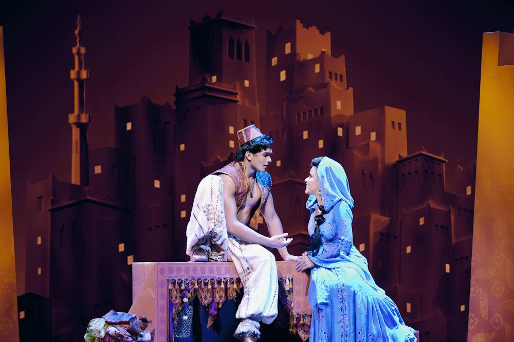 Aladdin und Jasmin