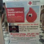 """Im Berliner Vampirschloss wird """"echtes"""" Blut gezapft"""