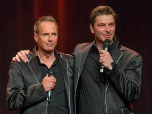 Kevin Tarte und Jan Ammann
