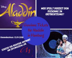 Ticketverlosung Aladdin
