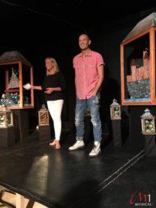 Drew Sarich bei der Pressekonfernz zu Luna in der Theatercouch