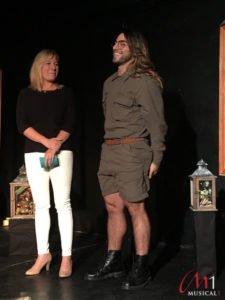 Cale Kalay bei der Pressekonferenz zu Luna in der Theatercouch