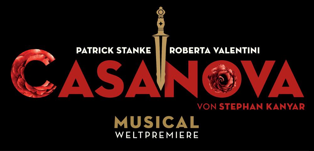 "Das Logo des Musicals ""Casanova"""