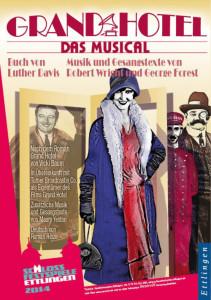 """Das Plakat vom """"Grand Hotel"""" in Ettlingen"""
