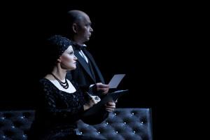 Brigitte Oelke (Norma Desmond) und Tom Zahner (Max von Mayerling)