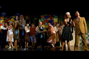 Die Party der Silvesternacht mit dem Ensemble