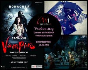 Gewinnspiel Fanpaket Tanz der Vampire Wien