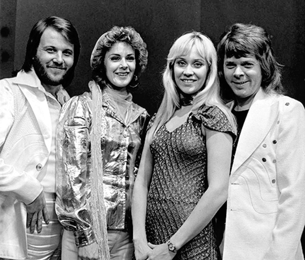 Gruppenbild von ABBA