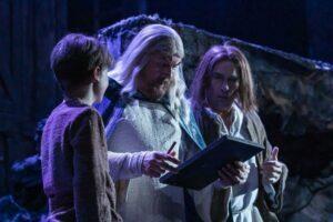 Aeskulapius mit Johannes und seinem Vater