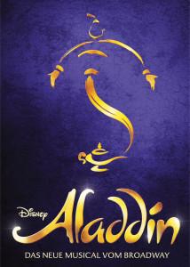 ALADDIN-Logo mit Dschinni