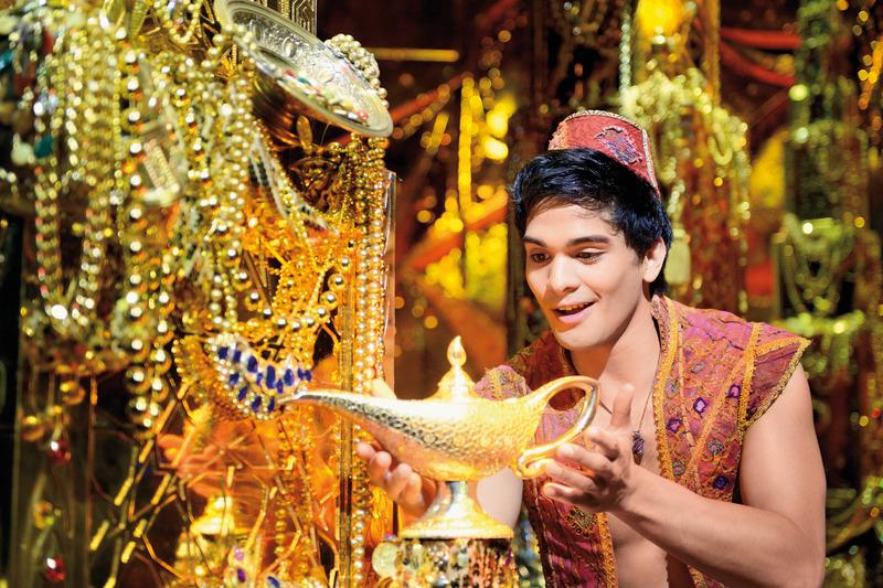 Aladdin-Darsteller Richard-Salvador Wolff