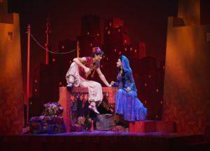Aladdin Szene Aladdin und Jasmin