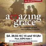 AMAZING GRACE zu Ostern in Thun und im April in Münster
