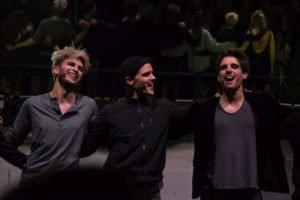 Robert, Dennis und Philipp von American Idiot