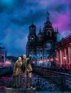 Anja und Dimitri in St. Petersburg