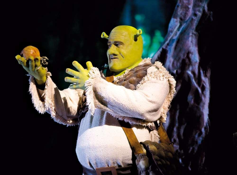 Andreas Lichtenberger als Shrek