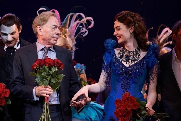 Andrew Lloyd Webber und Rachel Anne Moore