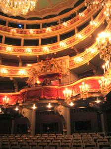 Regensburg Stadttheater Zuschauerraum