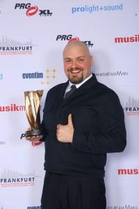 Enrico de Pieri mit LEA- Award
