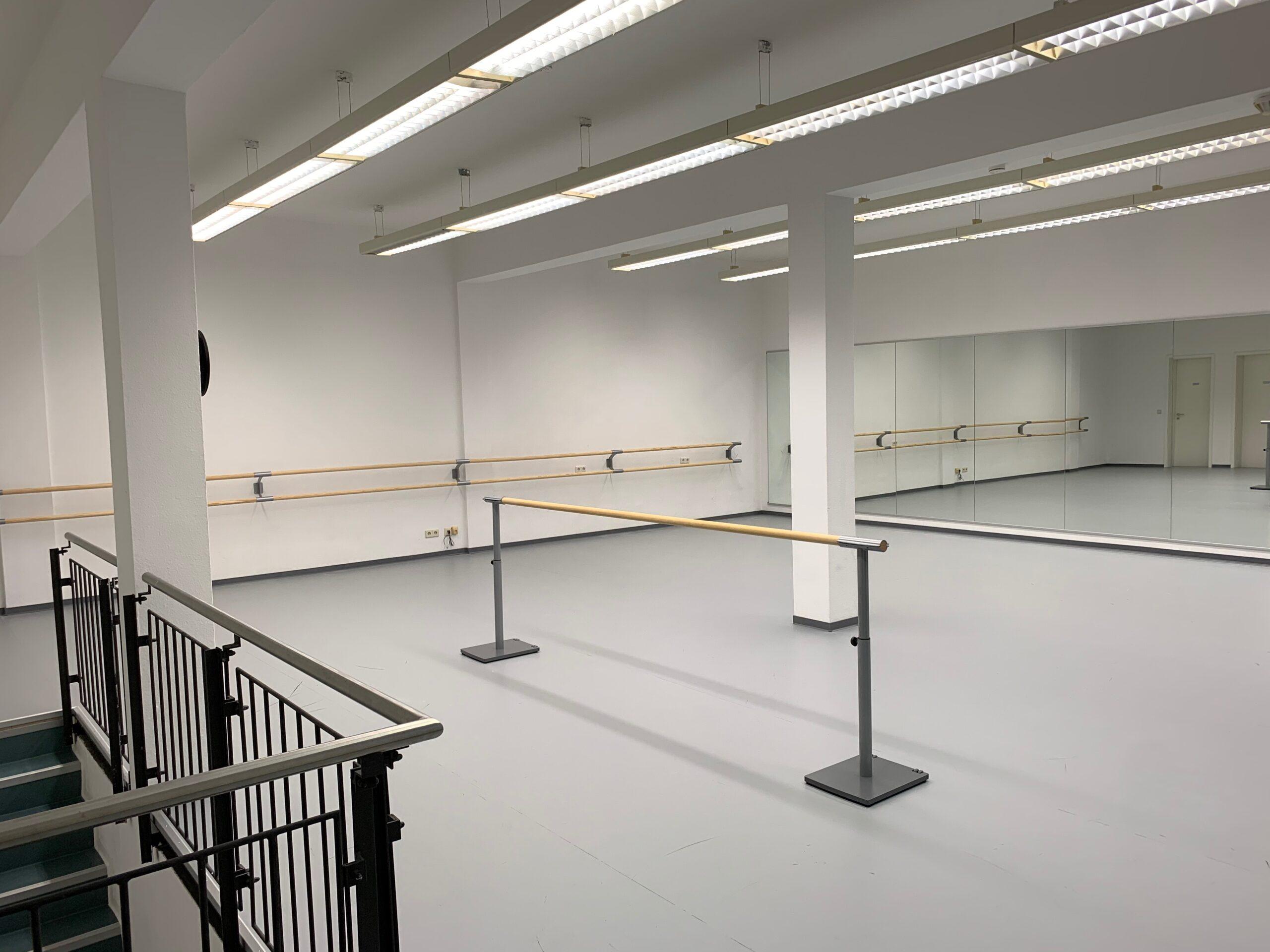 Ballettsaal von Stage und Musical Academy Frankfurt