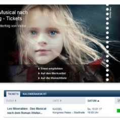 Les Miserables Barricades Werbung