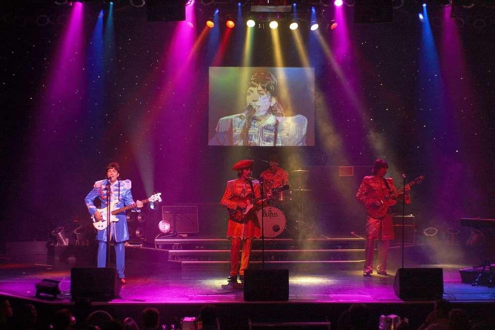 Beatles Auftritt