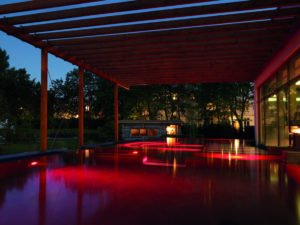 Outdoor Spa-Pool Aspria Uhlenhorst
