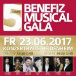 BENEFIZ MUSICAL GALA feiert 5-jähriges Jubiläum