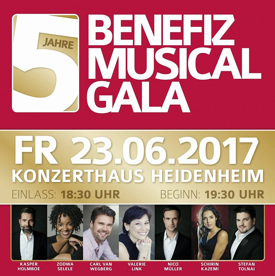 Benefiz Musical Gala 5 Jahre