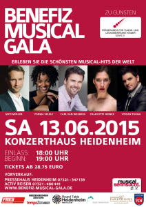 Benefiz Musical Gala Plakat