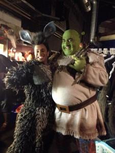 Benjamin als Shrek