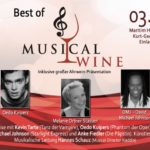 17. Türchen: 2×2 Tickets für BEST OF MUSICAL AND WINE
