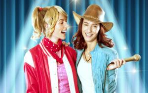 Eve Rades und Vera Weichel als Bibi und Tina