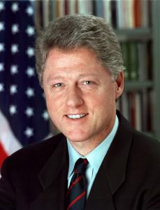 Ein Portrait von Bill Clinton