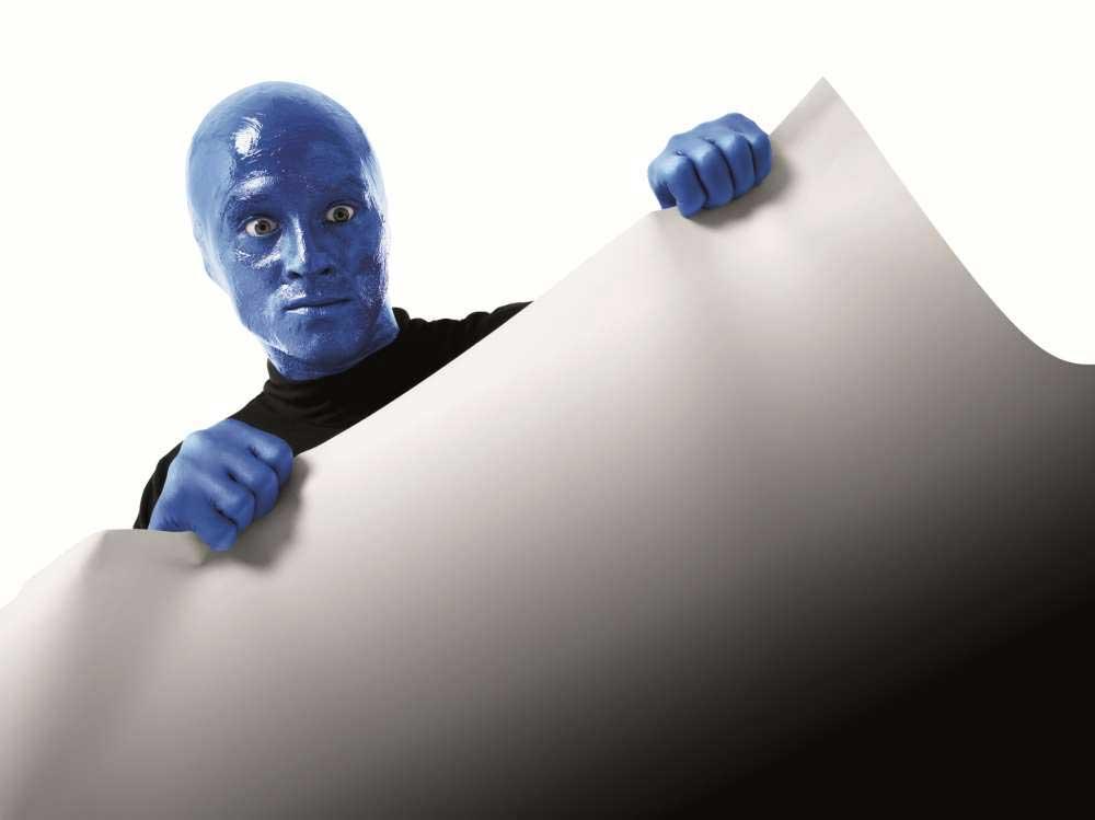 Blue Man Group einzeln