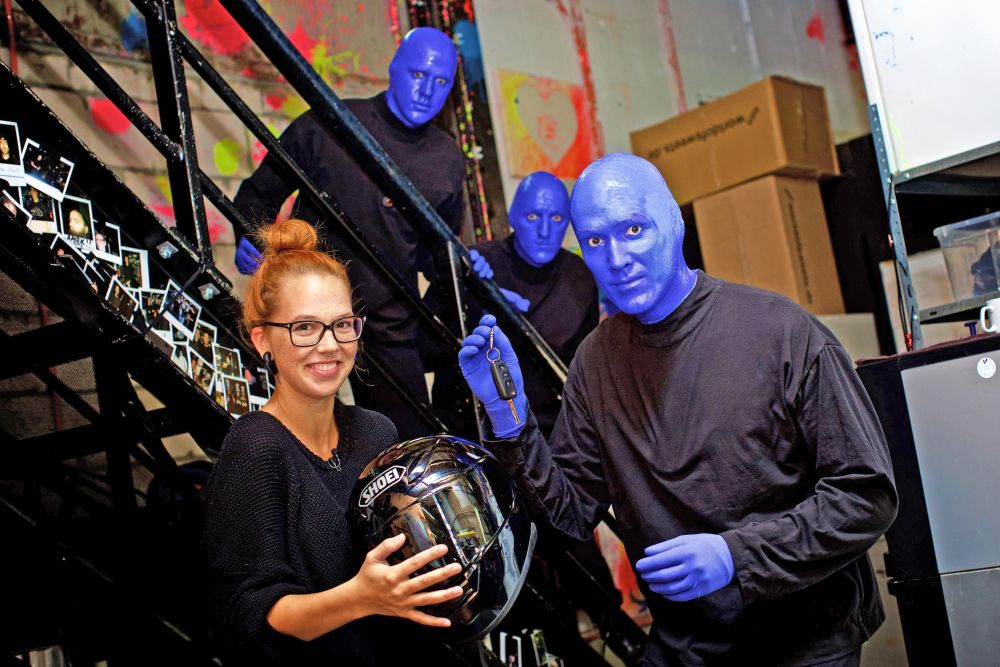 Blue Man Group, Stephanie Heinzmann