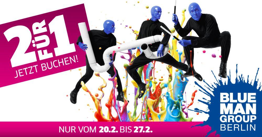 Blue Man Group Salesweek