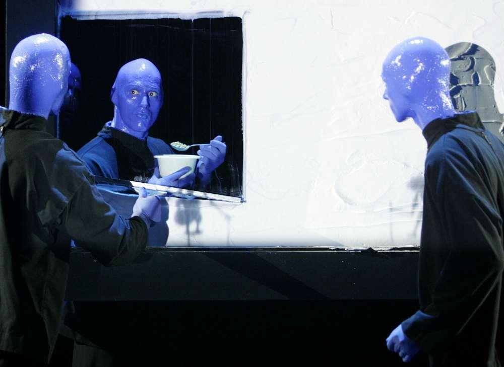 Blue Man Group Szenenmotiv