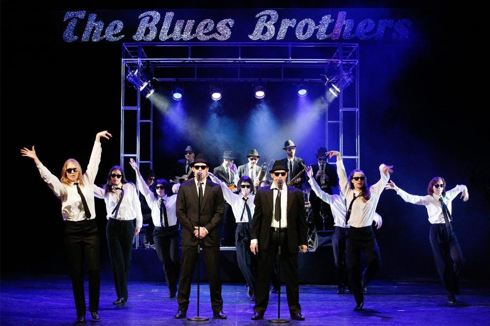 Die BLUES BROTHERS in Greifswald