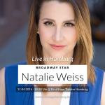 Broadway-Star Natalie Weiss zu Gast in Hamburg